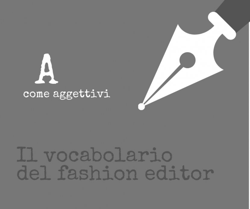 fashion editor vocabolario