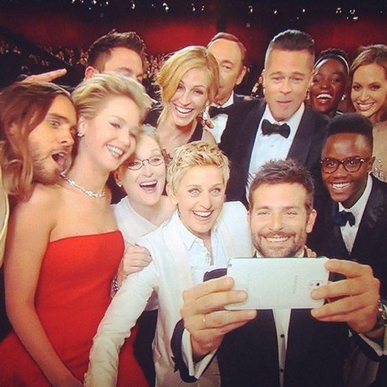 instagram selfie ellen